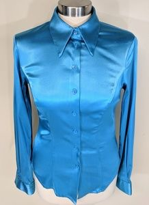 Guess Tops - Guess Stretch Satin Blouse